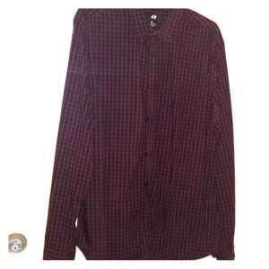 Men's H&M long sleeve flannel